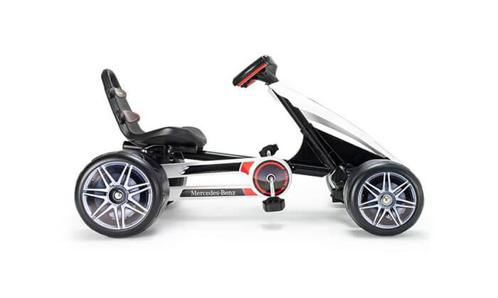 5 רכב קרטינג לילדים בעיצוב מרצדס