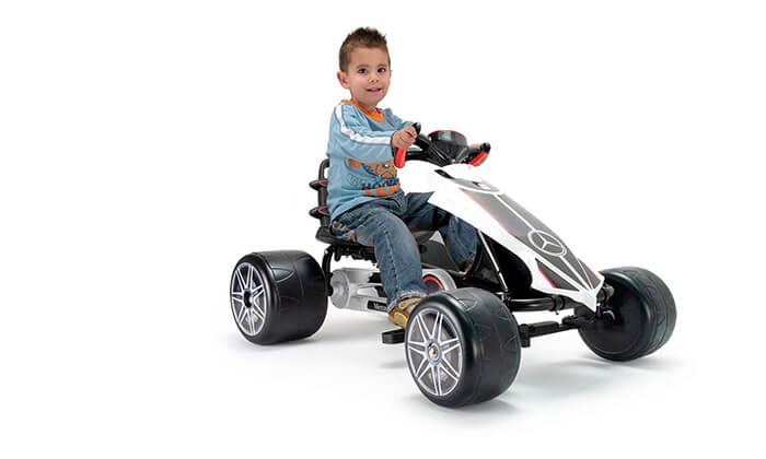 4 רכב קרטינג לילדים בעיצוב מרצדס