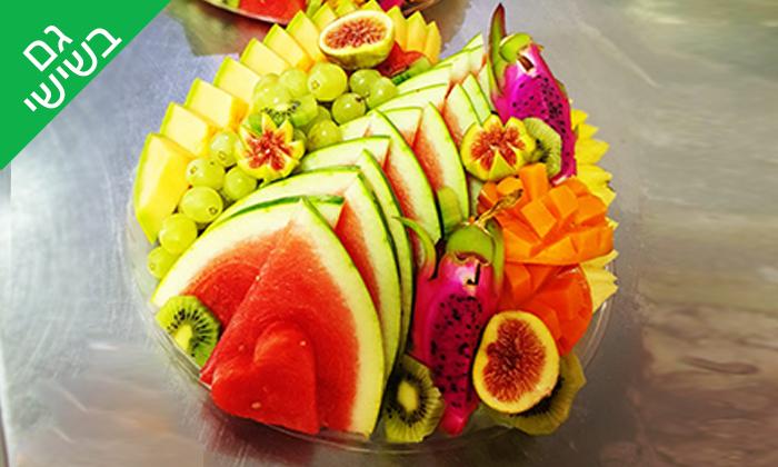 3 מגשי פירות מדוקטור ג'וס
