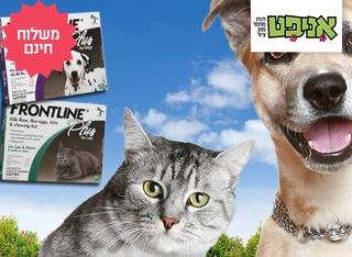 מארז 3 אמפולות לכלב ולחתול