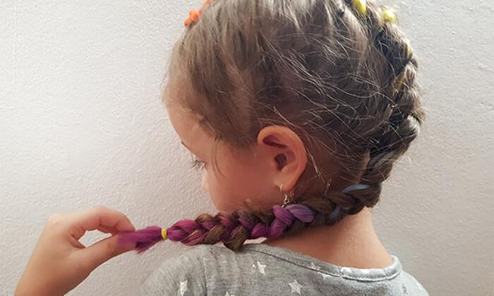 5 תסרוקת אמנותית לילדות בסטודיו לצילום אומנתי של אריאלה, תל אביב