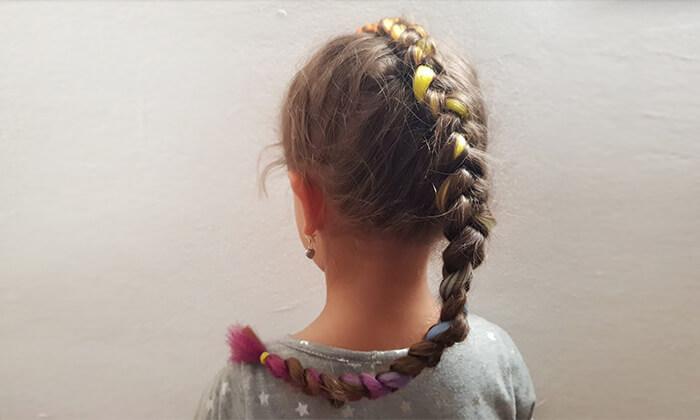 6 תסרוקת אמנותית לילדות בסטודיו לצילום אומנתי של אריאלה, תל אביב