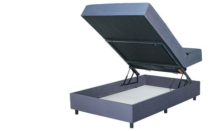 4 מיטה ברוחב וחצי עם ארגז מצעים גדול