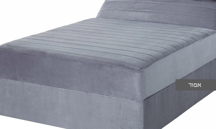 6 מיטה ברוחב וחצי עם ארגז מצעים גדול