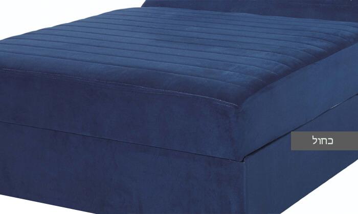 5 מיטה ברוחב וחצי עם ארגז מצעים גדול