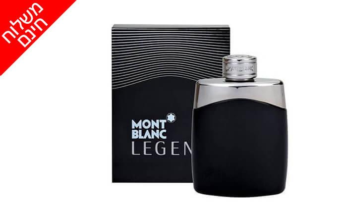 2 בושם לגבר Mont Blanc Legend - משלוח חינם!