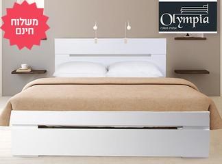 מיטה כולל מזרן קפיצים אורתופדי
