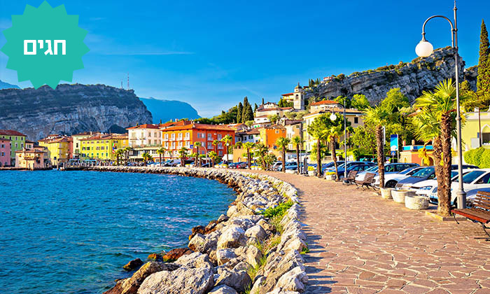 5 צפון איטליה - טיול מאורגן 5/7 ימים, כולל חגים