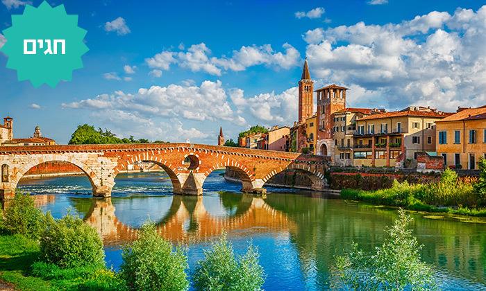 2 צפון איטליה - טיול מאורגן 5/7 ימים, כולל חגים