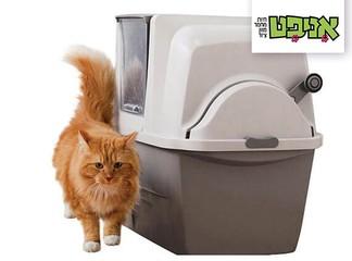שירותים אוטומטים לחתול