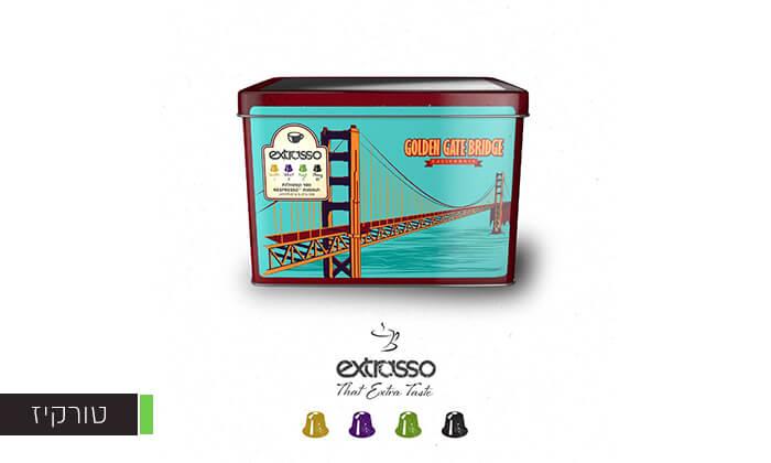 4 100 קפסולות קפה בטעמים Extrasso