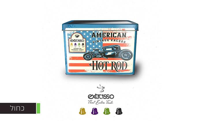 5 100 קפסולות קפה בטעמים Extrasso