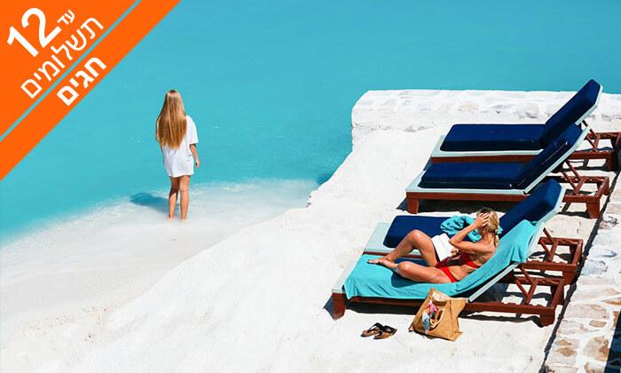 4 הכול כלול בכרתים - מלון 5* Radisson Blu, כולל ראש השנה