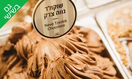קילו גלידה מ'גלידה נווה צדק'