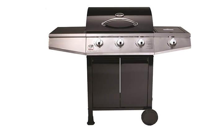 5 גריל גז 3 מבערים Buffalo Chef