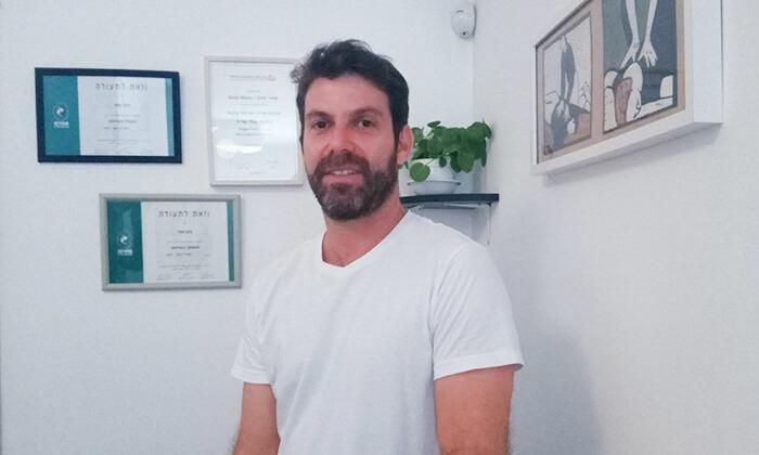 3 טיפול שיאצו אצל אמיר מינץ, תל אביב
