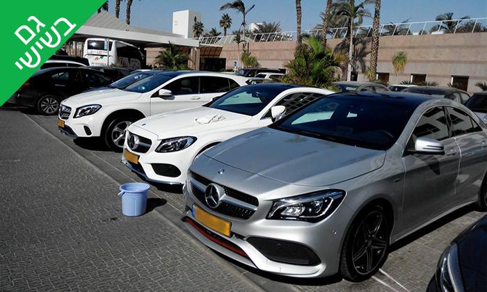2 שטיפת מכוניות ידנית בפינוקאר, אילת