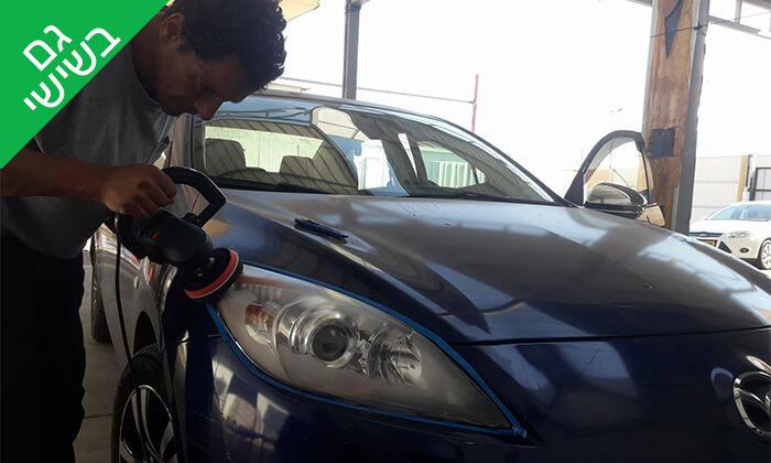 6 שטיפת מכוניות ידנית בפינוקאר, אילת