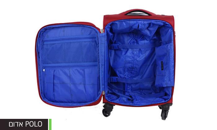 6 מזוודות קלות משקל