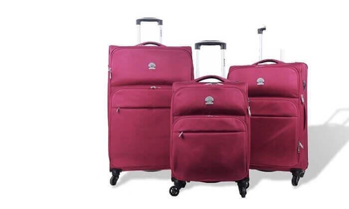 2 מזוודות קלות משקל