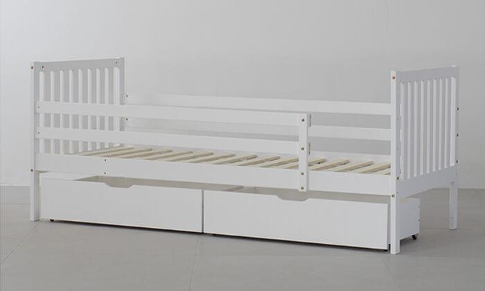 3 מיטת ילדים דגם Botega עם מגירות אחסון
