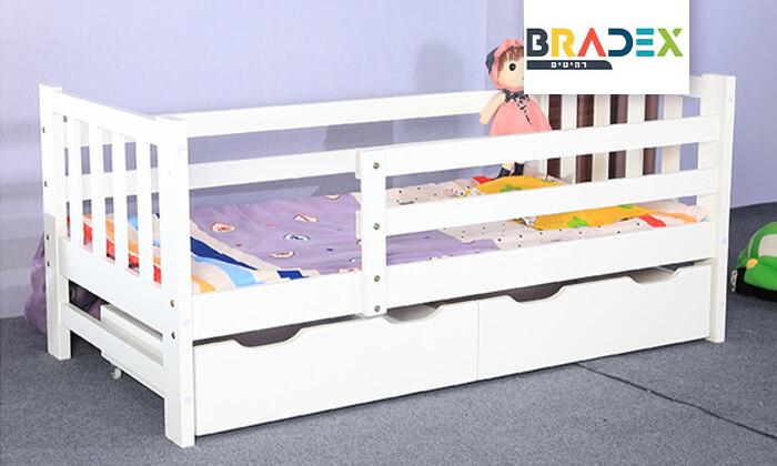 2 מיטת ילדים דגם Botega עם מגירות אחסון