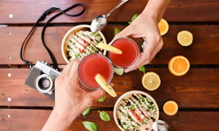7 מסעדת הרצוג הטבעונית, תל אביב