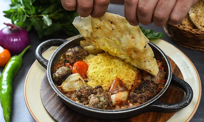 5 ארוחה זוגית במסעדת השף דיאנא, נצרת