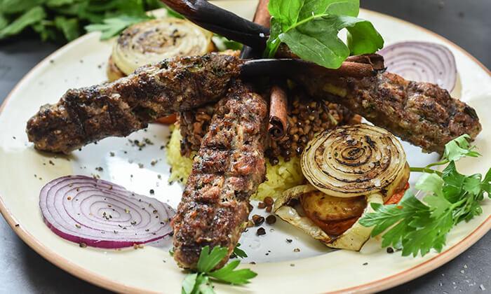2 ארוחה זוגית במסעדת השף דיאנא, נצרת