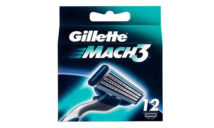 2 מארז 12 סכיני גילוח ג'ילט Gillette