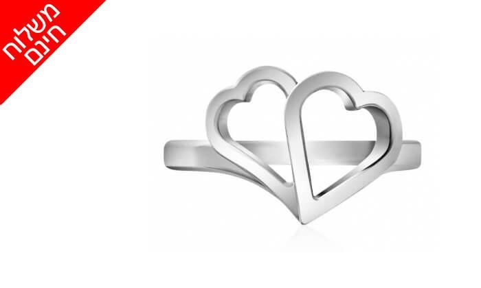 9 טבעת לבבות זהב 14K של GOLDIAM - משלוח חינם