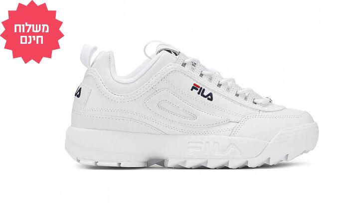 5 נעליי FILA לנשים - משלוח חינם