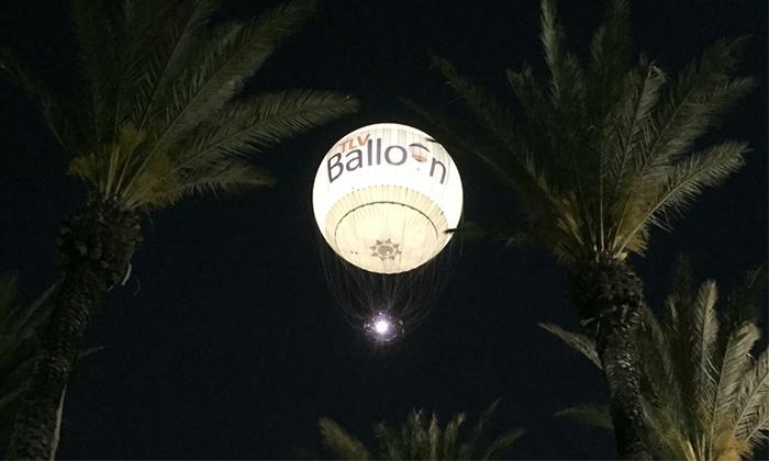 4 TLV Balloon טיסה בכדור פורח, בפארק הירקון