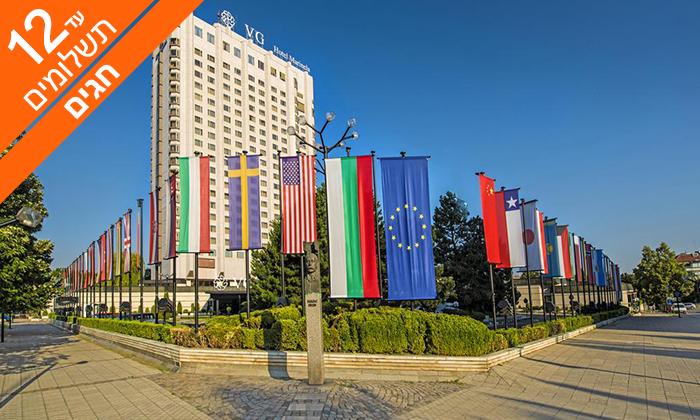 5 חופשת 5 כוכבים בסופיה, בולגריה - כולל חגים
