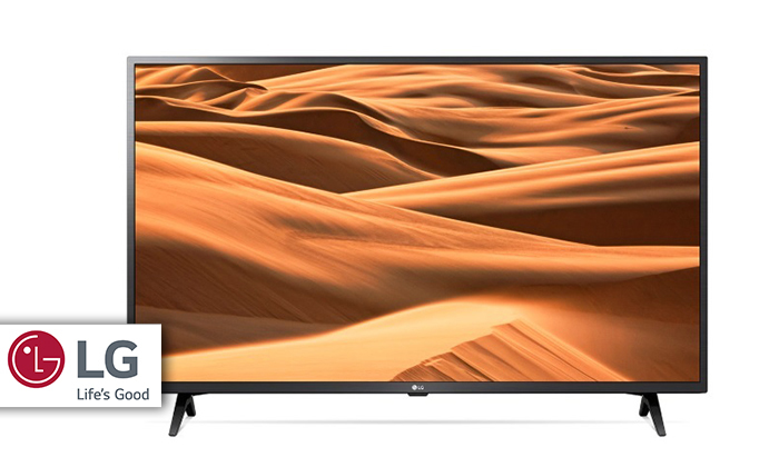 2 טלוויזיה חכמה 4K LG, מסך 55 אינץ'