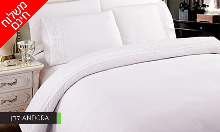 3 סט מצעים למיטת יחיד או למיטה זוגית - משלוח חינם