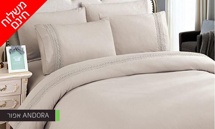 4 סט מצעים למיטת יחיד או למיטה זוגית - משלוח חינם