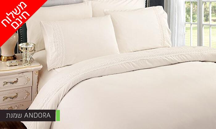 5 סט מצעים למיטת יחיד או למיטה זוגית - משלוח חינם