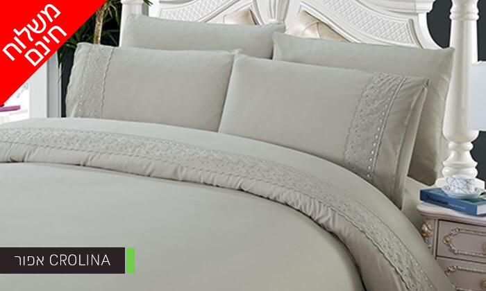 6 סט מצעים למיטת יחיד או למיטה זוגית - משלוח חינם