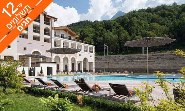 9 חופשה בסוצ'י - קזינו, שופינג ומלון 5* מומלץ, כולל חגים