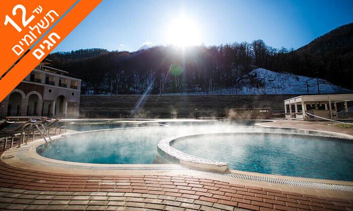 3 חופשה בסוצ'י - קזינו, שופינג ומלון 5* מומלץ, כולל חגים