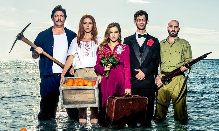 5 כרטיס זוגי להצגה בתיאטרון בית ליסין תל אביב