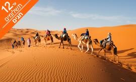 מאורגן 11 ימים למרוקו בסוכות