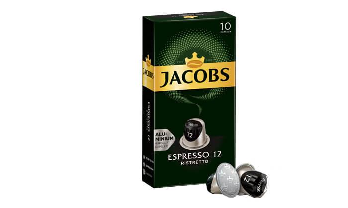 3 קפסולות קפה של ג'ייקובס