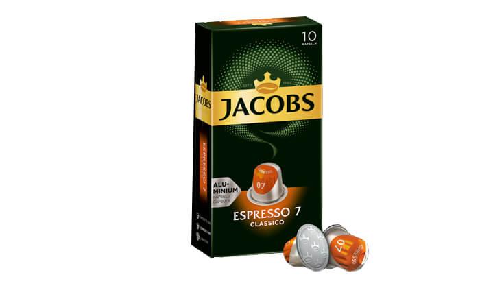 4 קפסולות קפה של ג'ייקובס