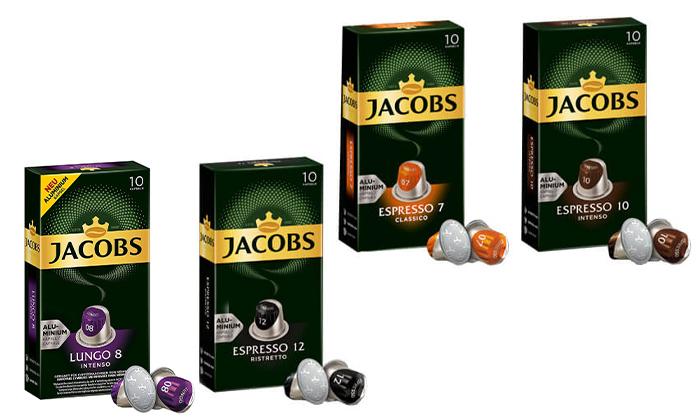 7 קפסולות קפה של ג'ייקובס