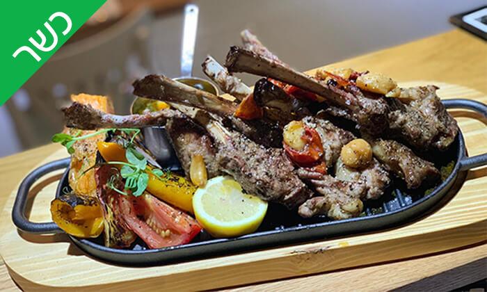 4 ארוחה זוגית כשרה במסעדת בר בשר