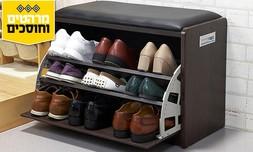 שידת התארגנות עם תא נעליים