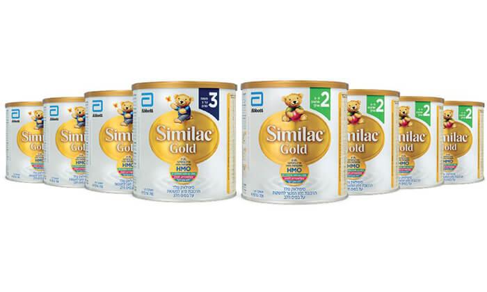 6 מארז 8 יחידות Similac Gold