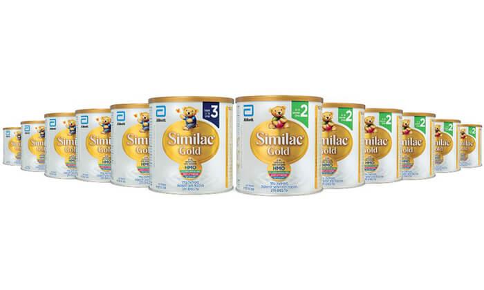 6 מארז 12 יחידות Similac Gold
